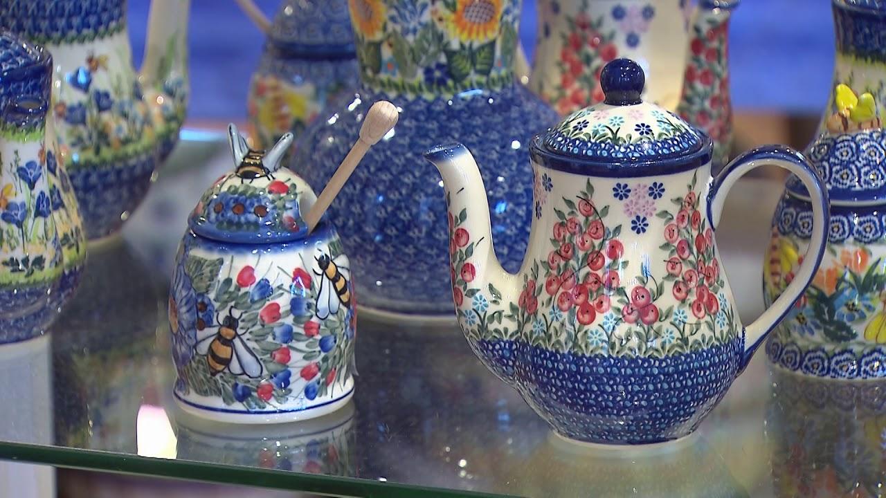 Welcome to The Polish Pottery Shoppe - Bubble Mugs, Bakeware
