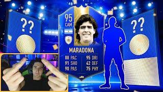 MARADONA 95 + TOTS В ПАКЕ || MARADONA IN A PACK || RONALDO IN A PACK || TOTS IN A PACK