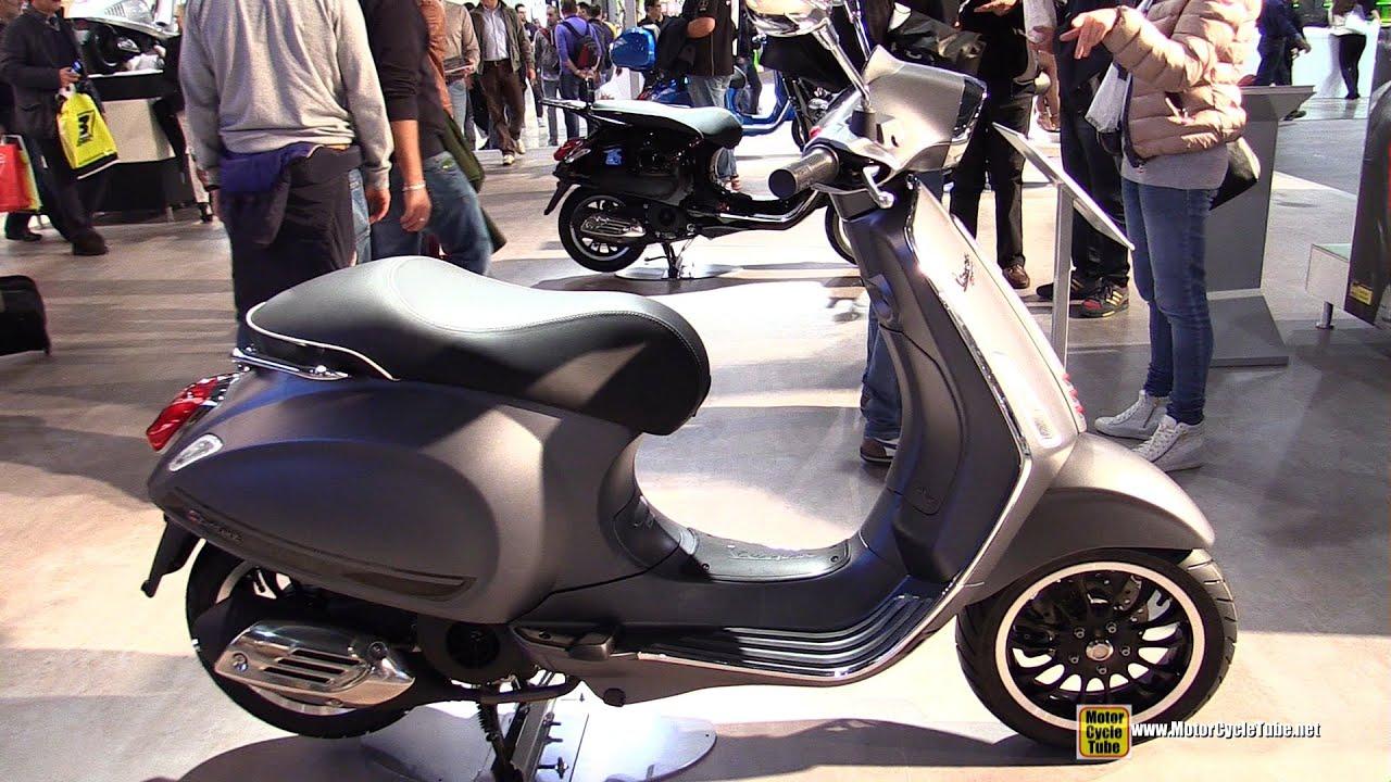 2015 vespa sprint 125 scooter walkaround 2014 eicma. Black Bedroom Furniture Sets. Home Design Ideas