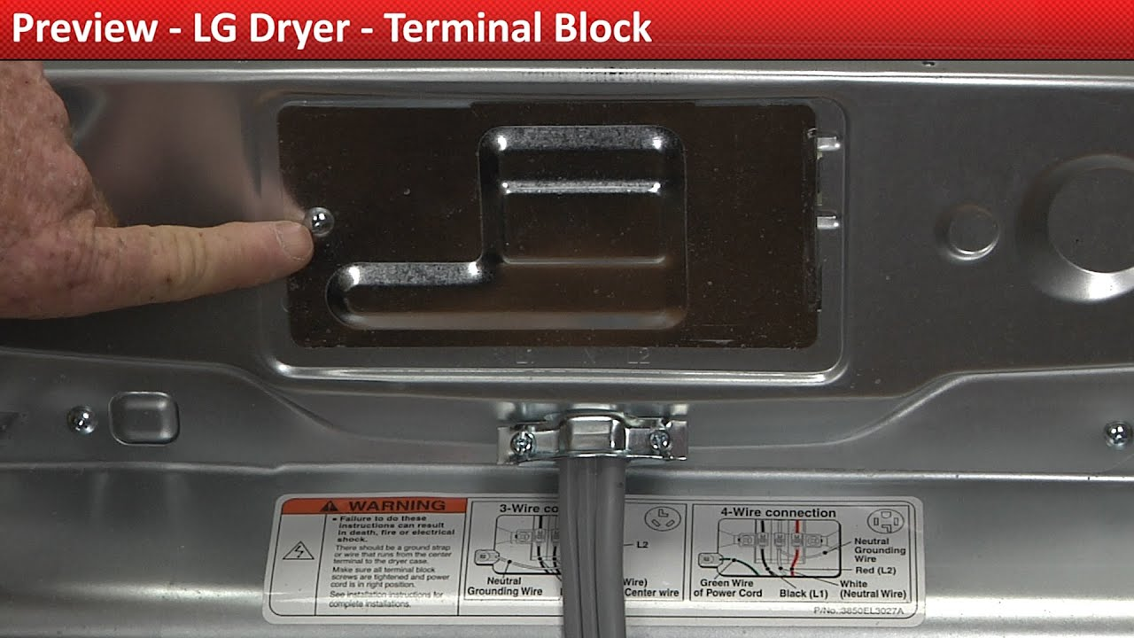 maxresdefault lg dryer terminal block replacement youtube  at bayanpartner.co