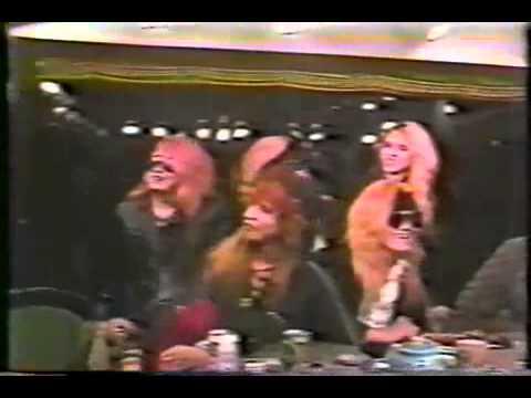 X Japan studio interview 1988