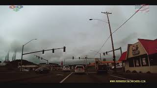 Woodland, California To Marys Peak - Philomath, Oregon - Time Lapse Video - VEG Travels