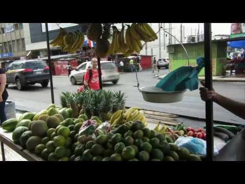 Panama city The ocean Street market Panama
