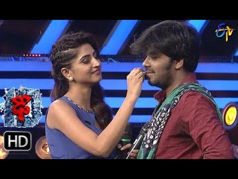 Sudheer | Varshni  Funny Task | Dhee 10 | 1st November 2017| ETV Telugu