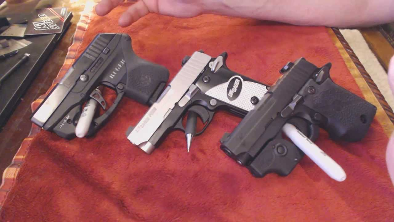 Ruger Lcp Vs Sig P238 Which One To Buy For Concealed