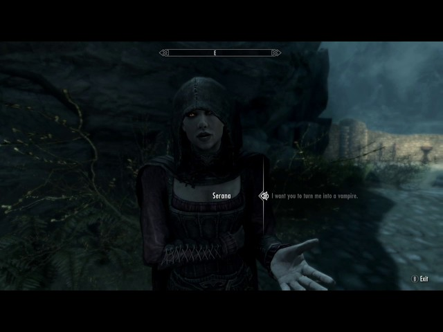 How To Become A Werewolf Or A Vampire In Skyrim Special Edition ...