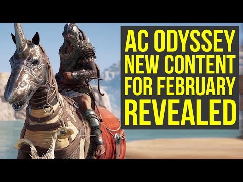 Assassin's Creed Odyssey New Game Plus, Level Cap Upgrade & More Coming In February (AC Odyssey) thumbnail