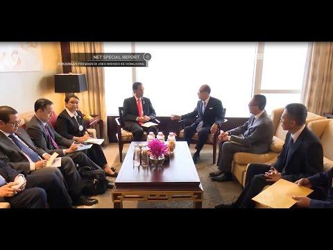 Presiden Jokowi Yakinkan Investor & Pebisnis Hongkong Berinvestasi ke Indonesia (6/7)