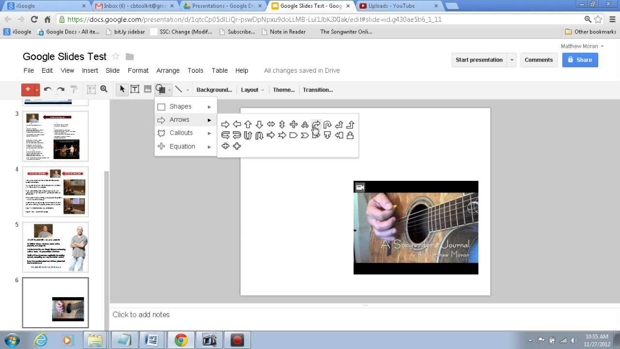 How to Embed an Unlisted YouTube video in Google Slide ...