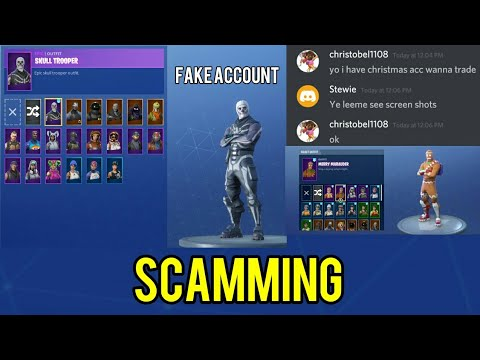 So I Tried To SCAM Someone On A FORTNITE Account Trading DISCORD Server Then This Happened...