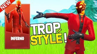THE NEW SKIN 'INFERNO' IS TROP TYLÉ ON FORTNITE!