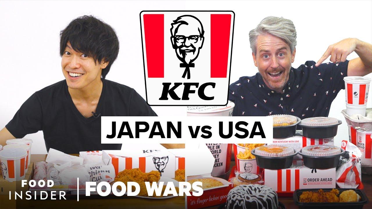 US vs Japan KFC | Food Wars