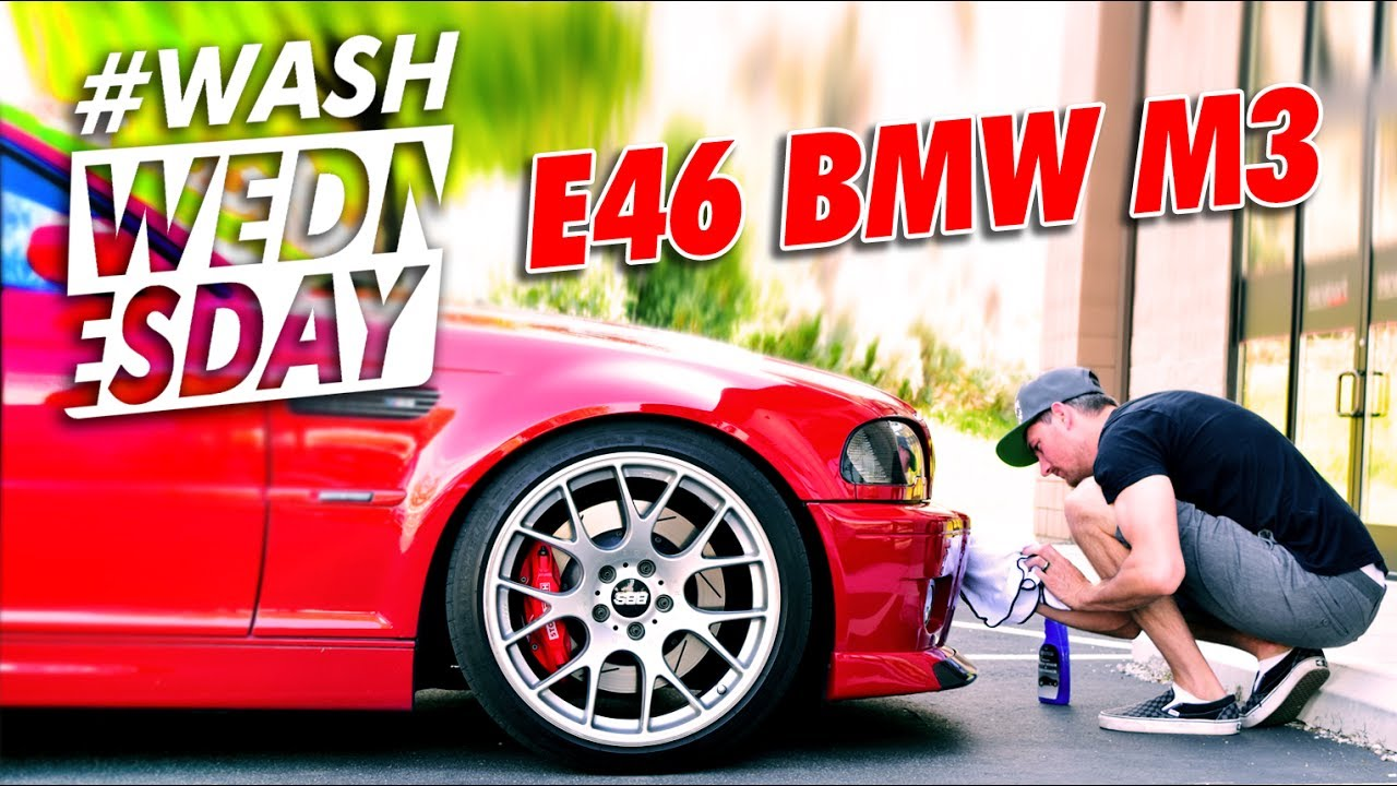 2004 Bmw E46 M3 Wash + Drive | Washwednesday  The Rag Company 32:40 HD