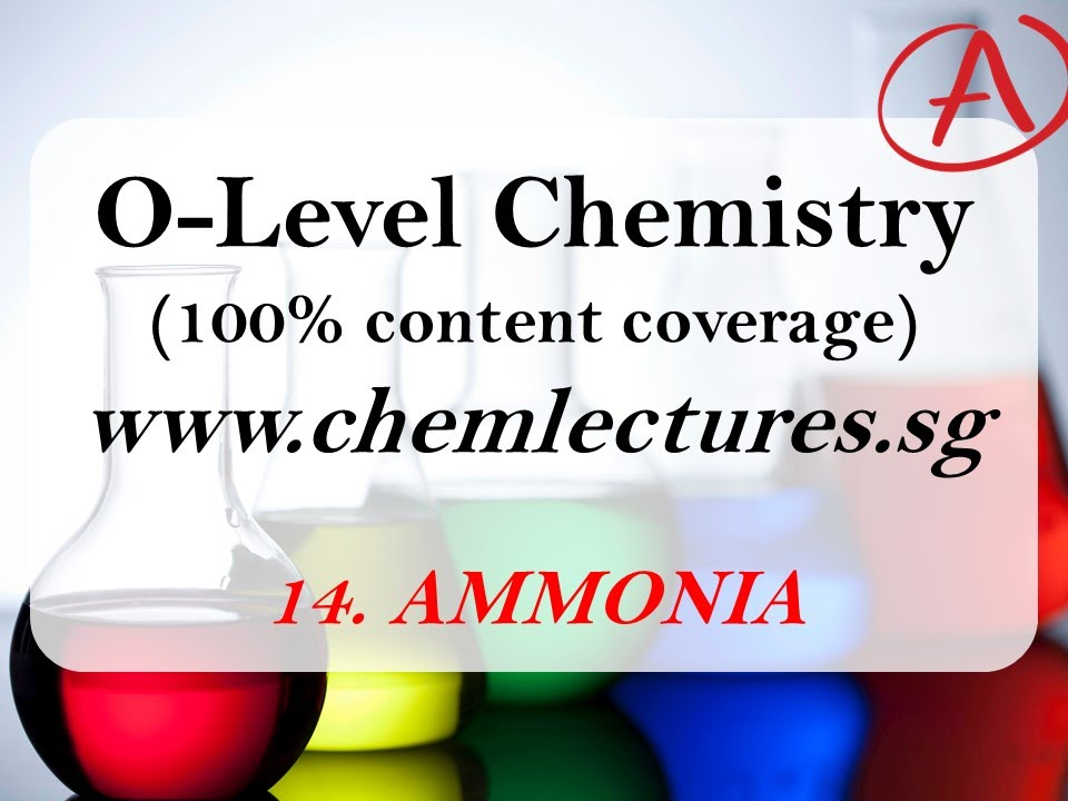 14th of 19 chapters ammonia gce o level chemistry lecture youtube 14th of 19 chapters ammonia gce o level chemistry lecture urtaz Image collections