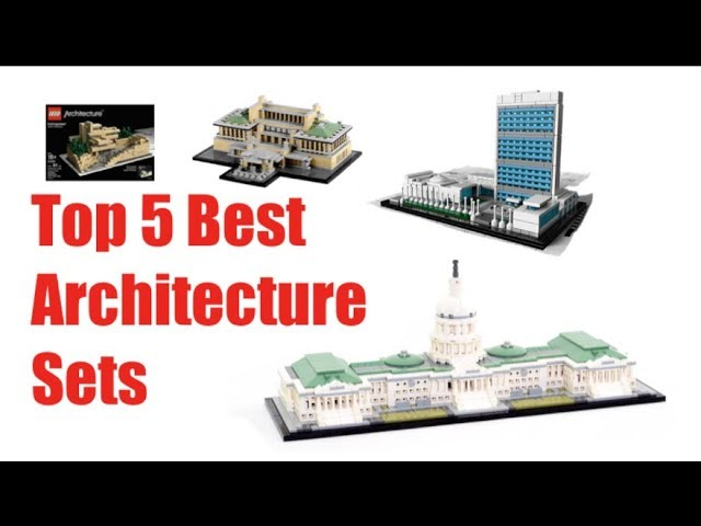Top 5 Best Lego Architecture Sets Youtube