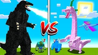 THE TALLEST MINECRAFT BOSSES EVER FIGHT!
