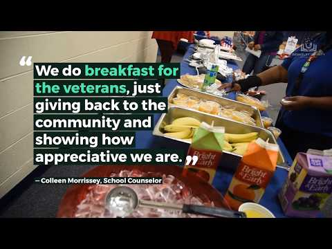 St. Stephen Elementary students see the importance of honoring veterans