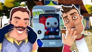 UNDERTALE SANS POP! Figure - Hello Neighbor Toy Mod