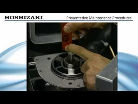 Hoshizaki Flaker DCM Series - Preventative Maintenance Procedures (Manufacturer's Guide)