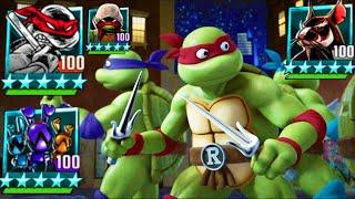 Teenage Mutant Ninja Turtles: Legends - SUBSCRIBERS VS BOSSES #TMNT 2012 & 1987, Part 3