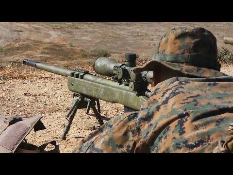 アメリカ海兵隊スナイパー訓練 M40スナイパーライフル(レミントンM700) - USMC M40 Sniper rifle