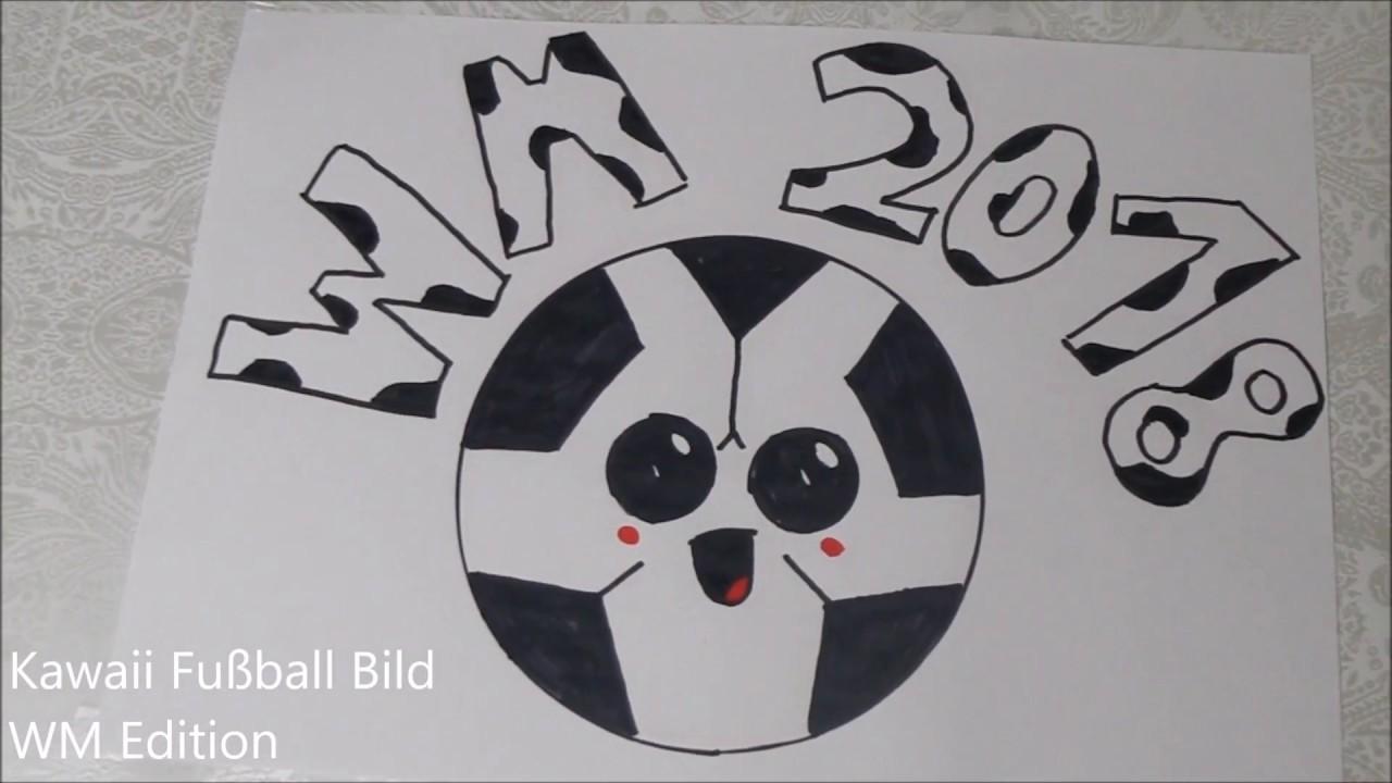 Kawaii Fussball Bild Wm Edition 2018 Immerlea