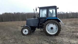 Трактор Мтз 82 В грязи чуть не застрял в Навозе . Тракторист Профессионал Уровень 80