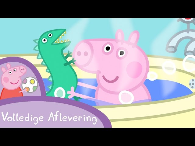 Peppa Pig Nederlands Compilatie Nieuwe Afleveringen | Meneer Dinosaurus is verdwaald | Tekenfilm