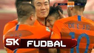 Kad Nakon Gola svi Čestitaju Asistentu   Šandong - Peking   SPORT KLUB FUDBAL