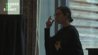 Latifa Eckakhch Talk at the 2019 Verbier Art Summit