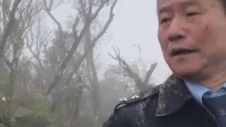 台湾军方一架美制黑鹰直升机失事造成8人遇难