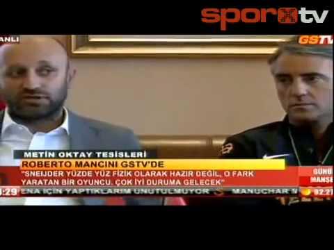 Roberto Mancini : Burak Yılmaz kusursuz bir golcü