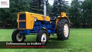CIĄGNIK - URSUS C 355 w zbiorach Muzeum Rolnictwa w Ciechanowcu