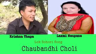 Krishna Thapa and Laxmi Neupane - Chaubandhi Choli   Lok Dohori Song