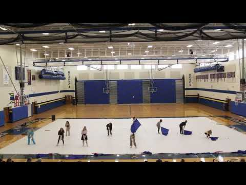 """Waynesboro Middle School Color Guard 2021 """"We Shall Be Free"""""""