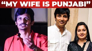 """En Wife Oru PUNJABI""- Jiiva Speech at Gypsy Audio Launch"