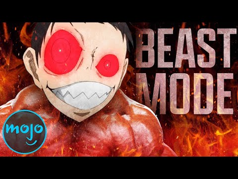Top 10 Times Anime Characters Went Beast Mode