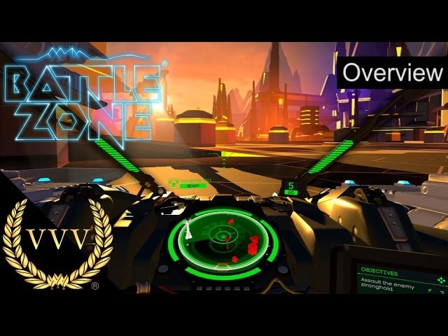 Battlezone VR Overview
