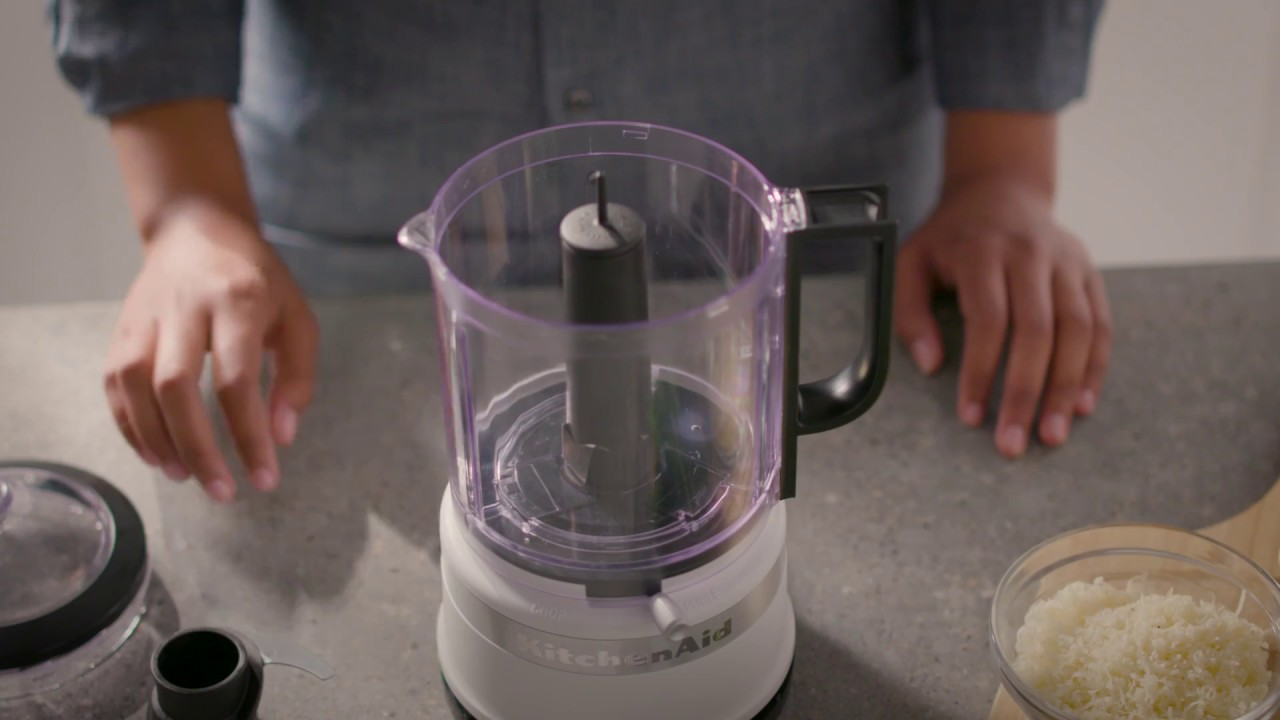 How To Assemble And Use The New 5 Cup Food Chopper Kitchenaid 5 Cup Food Chopper