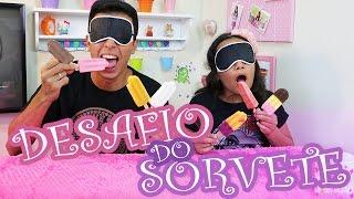 DESAFIO DO SORVETE! - JULIANA BALTAR FT. LUIZ PHELLIPE