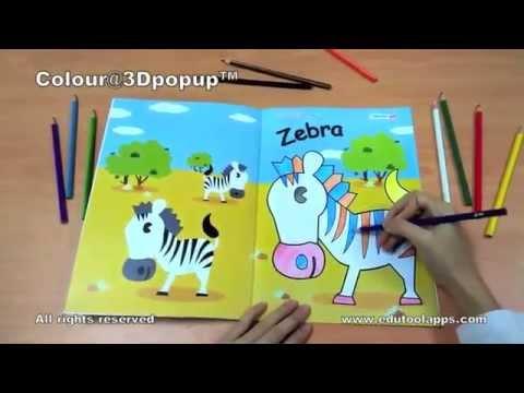 EDUTOOLapps : Colour@3DPOPUP Book