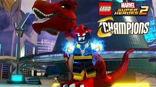 LEGO Marvel Super Heroes 2 All Champions Character Pack DLC Characters Unlocked