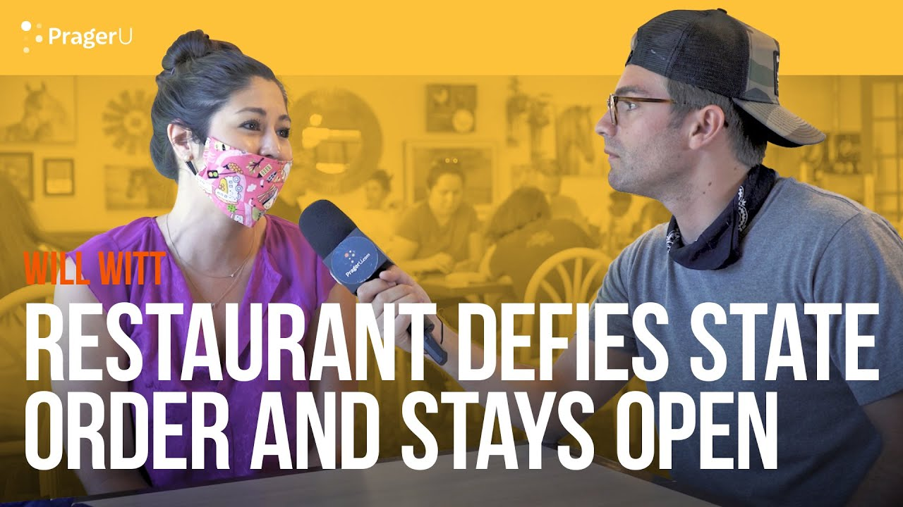 Restaurant Defies State Order and Stays Open