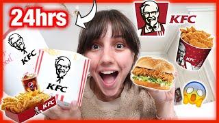 Τρώω KFC για 24 ώρες | Marianna Grfld