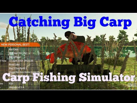 Carp Fishing Simulator (Episode 1) 2019, How To Catch Big Fish