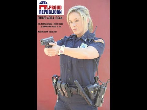 Republican Cop Officer Logan VS Democrat Muslim Thugs! REAL