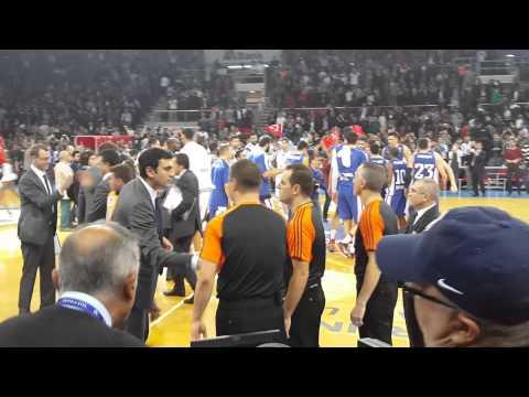 Anadolu Efes - Real Madrid Son Hücum 75-73 14.11.2014