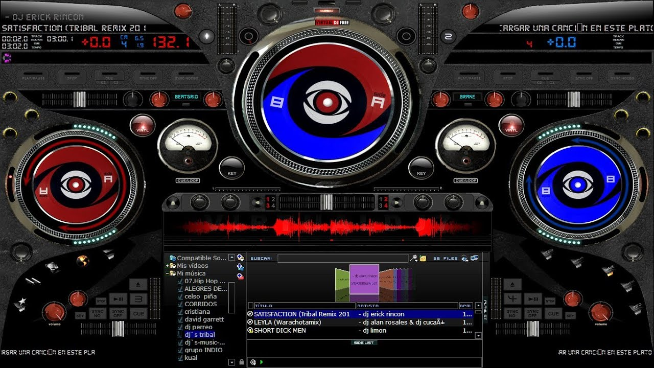 x24 beta skin para virtual dj-2013-by sack. (descarga ...