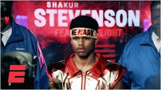 Shakur Stevenson fulfilling dream of fighting in hometown of Newark | Top Rank Boxing