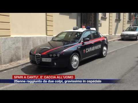 Etg - Spari a Cantù, 25enne in gravi condizioni